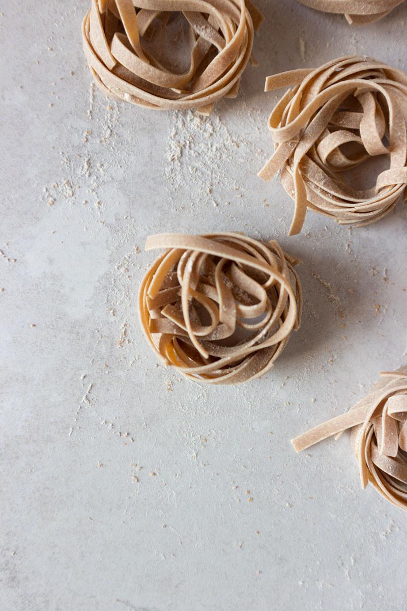 Whole wheat tagliatelle | Fresh pasta