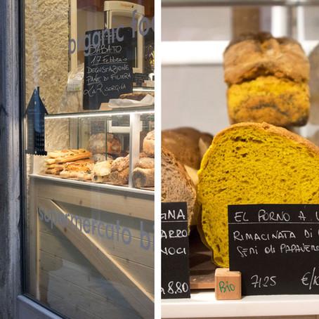 Exquisite artisan bread by La Risorgiva at the NaturaSi Venezia store in Calle della Regina