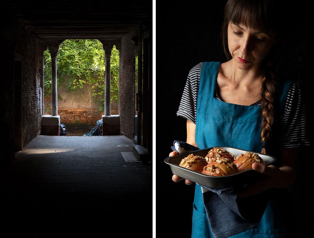 Healthy breakfast ideas: hasselback apples