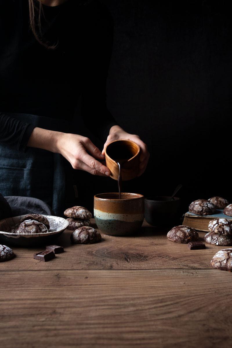 Cocoa crinkles cookies recipe
