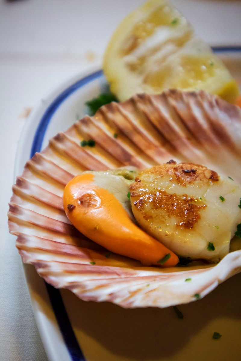 Scallop | Trattoria da Bepi | Traditional Venetian food