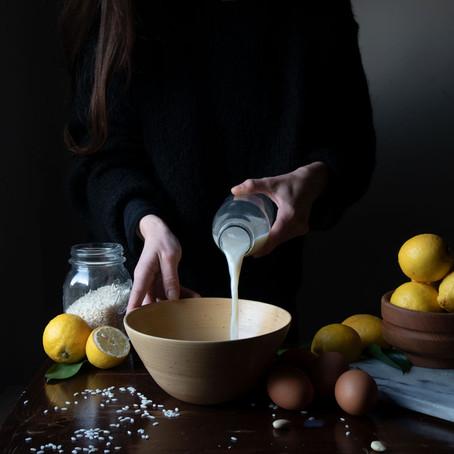 Gluten-Free Flourless Rice and Lemon Cake