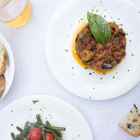 A lunch between the Mediterranean and the lagoon at sudest 1401