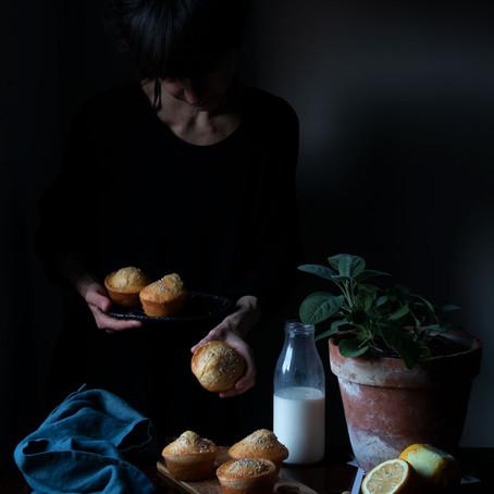 Lemon and Sage Muffins