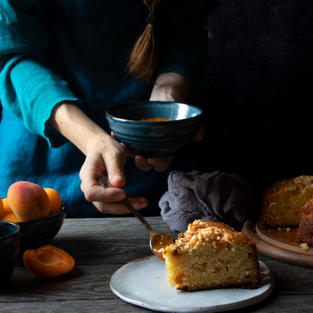 Apricot Cake for Breakfast and Morning Rituals