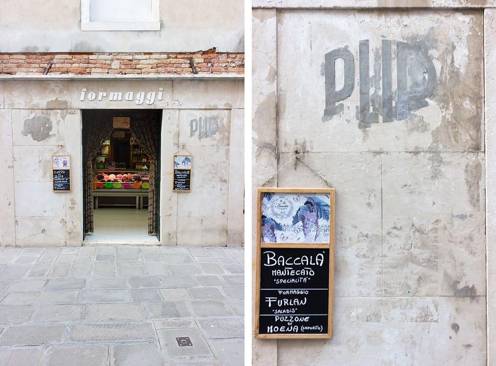 Venice - Cheese Shop