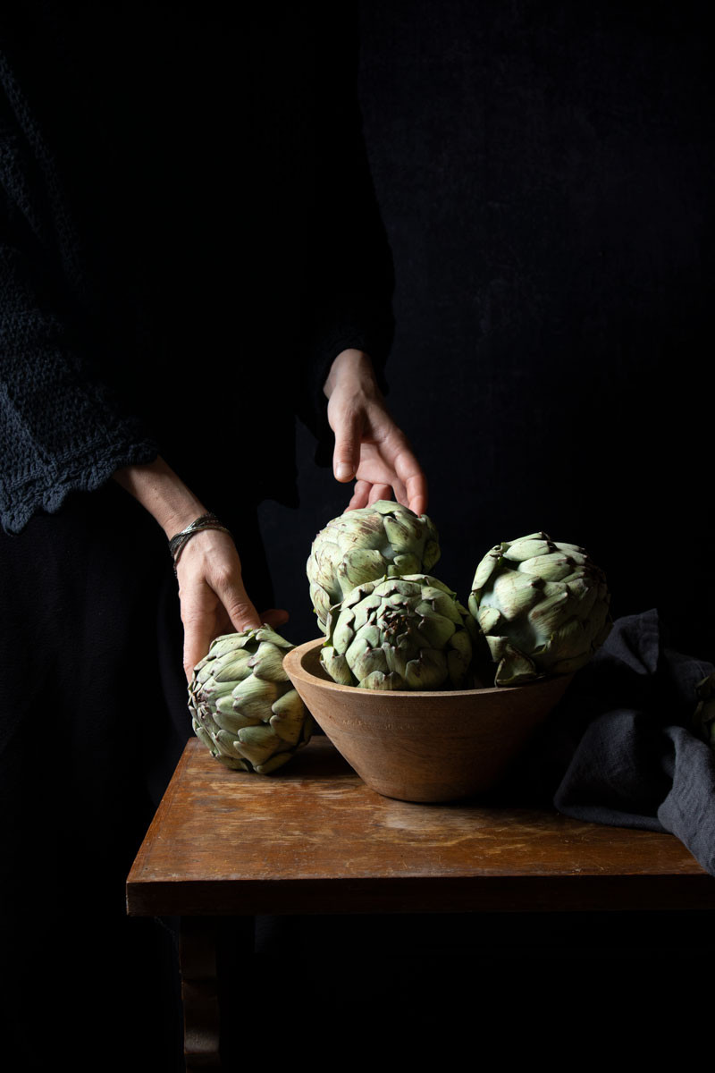 Venetian artichokes hearts recipe