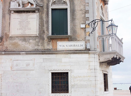 Eating and Drinking in Via Garibaldi - Castello Venice