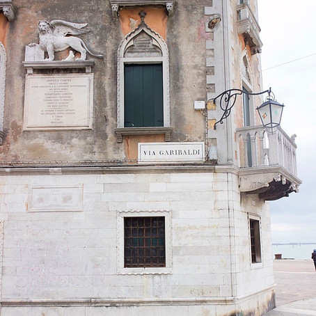 Eating and Drinking in Via Garibaldi - Castello Venice