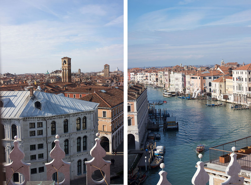 View of Venice (Italy) from the Fondaco dei Tedesci- DFS