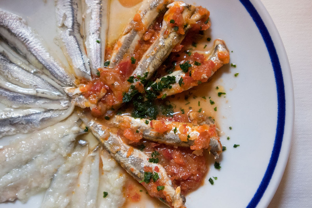 Marinated sardines, Trattoria da Bepi | Quality traditional Venetian food