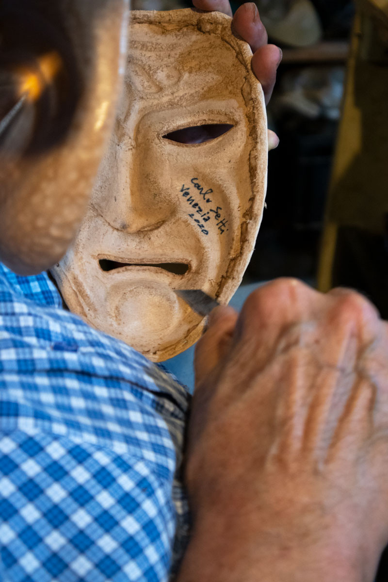 Carlo Setti and The Art of Mask Making - Venice Masks