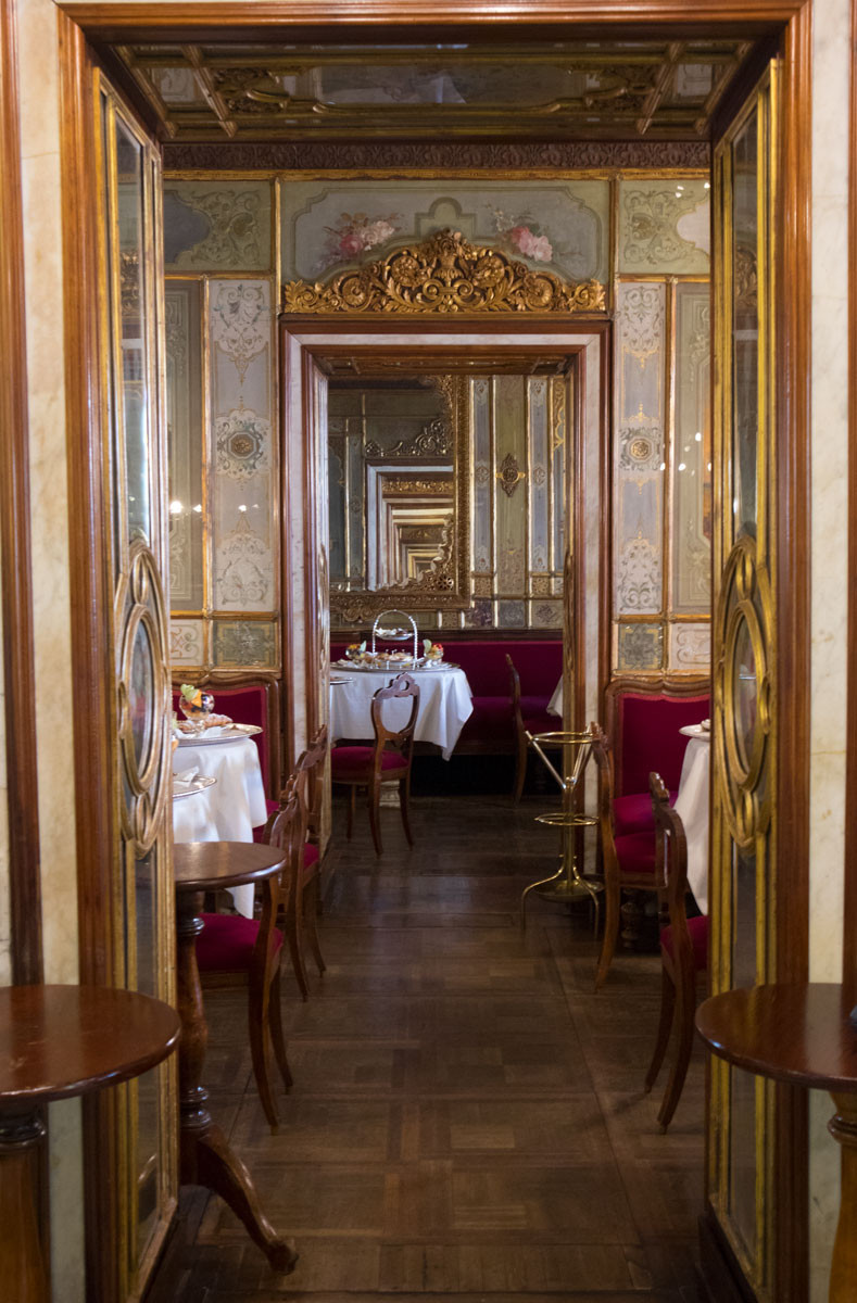 Chinese and Oriental Rooms | Caffè Florian | Venice, Italy