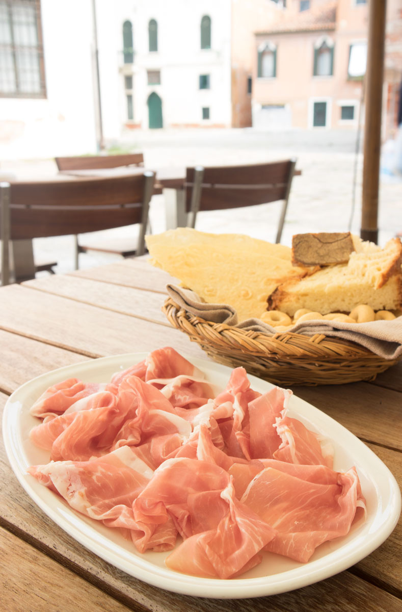 Fine dining in Venice | Pane e Vino San Daniele all'Angelo Raffaele