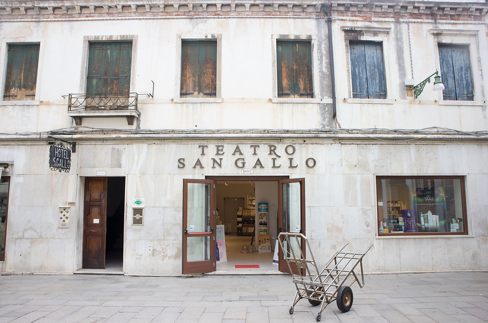Teatro San Gallo now San Gallo centre, Venice