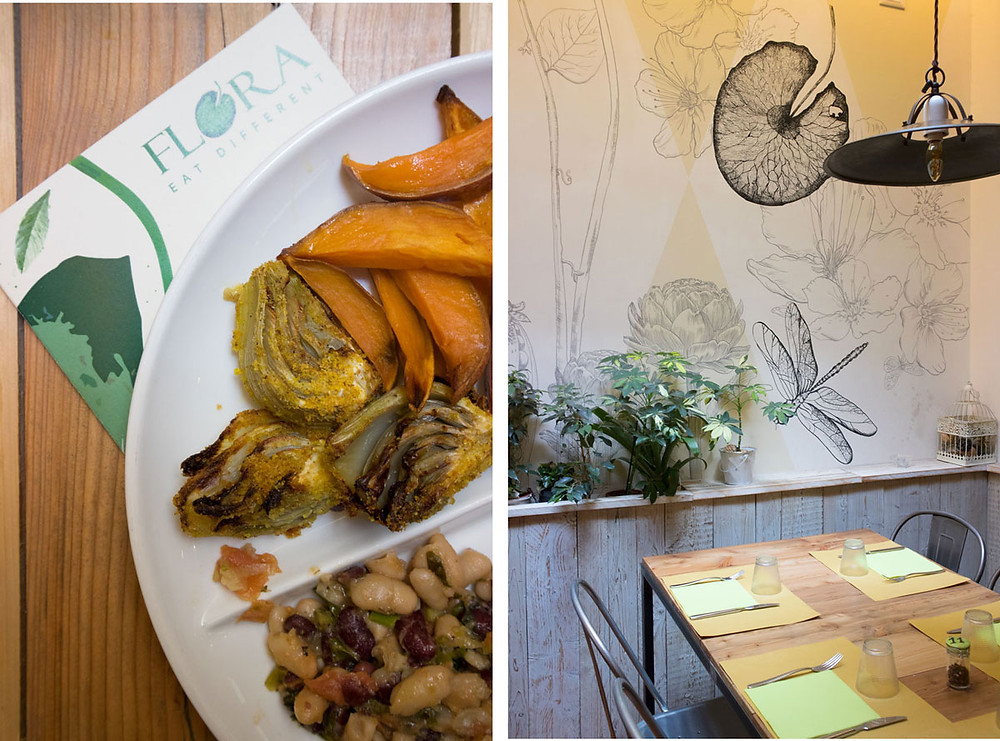 Flora | Vegan and gluten free restaurant in Verona (Italy)