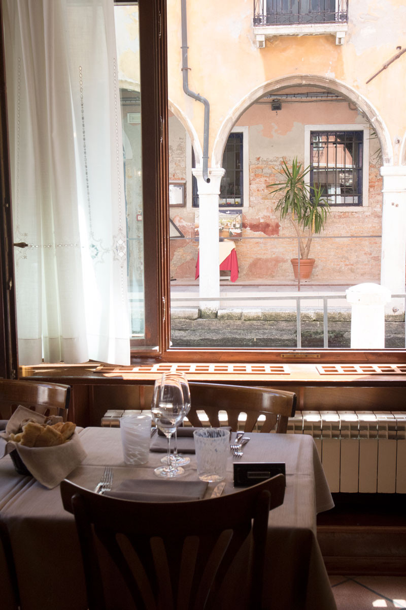 Fine dining in Venice   Vini da Gigio