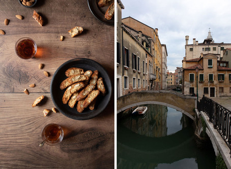 Cantucci with Almonds and Honey