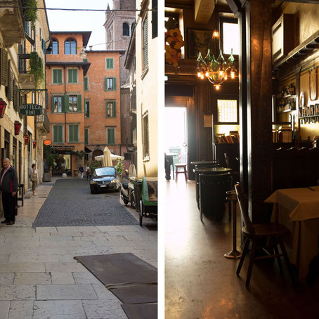 A Day Trip to Verona and a lovely lunch at Flora
