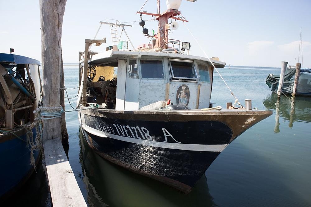 Venice islands: Pellestrina, a fishermen village