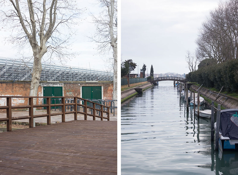 Venice like a local | Sant'Elena island and the stadium