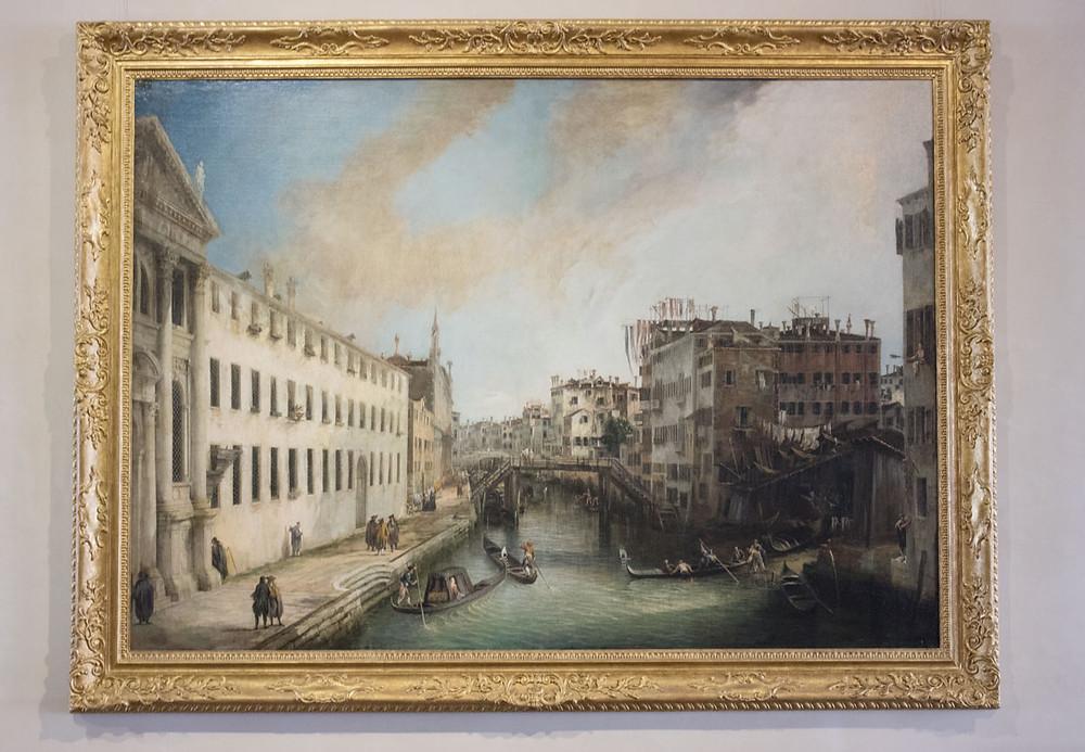 Canaletto | ca' Rezzonico museum | Venice
