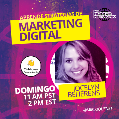 Estrategias de Marketing Digital con Jocelyn Beheren