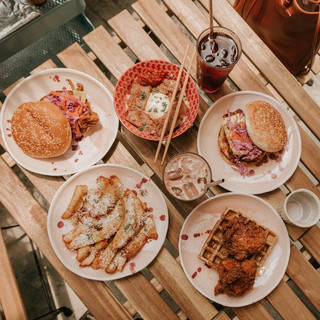 Flatlay of Food