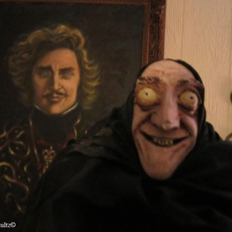 I-Gor with Young Frankenstein painting