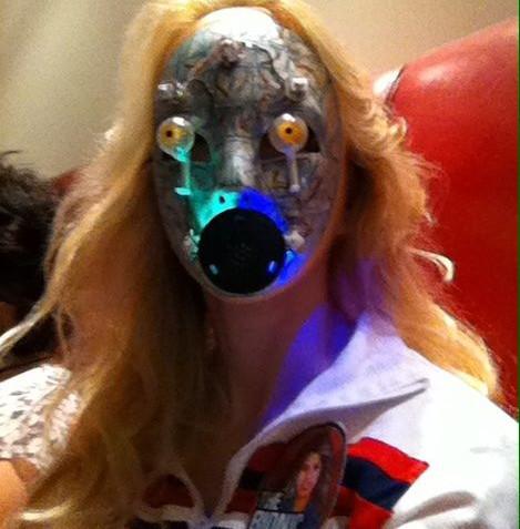 Fembot mask 2