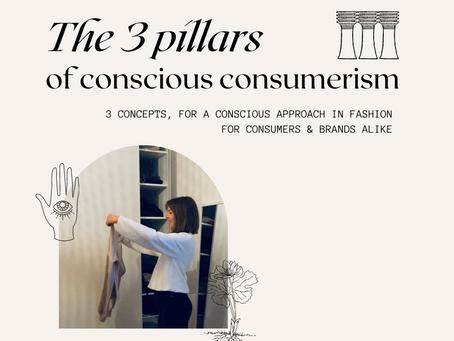 The 3 pillars of conscious consumerism