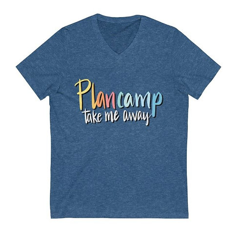 V Neck Short Sleeve T - Plancamp Take Me Away