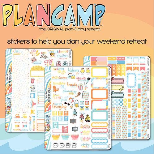 PlanCamp 2019 Sticker Bundle