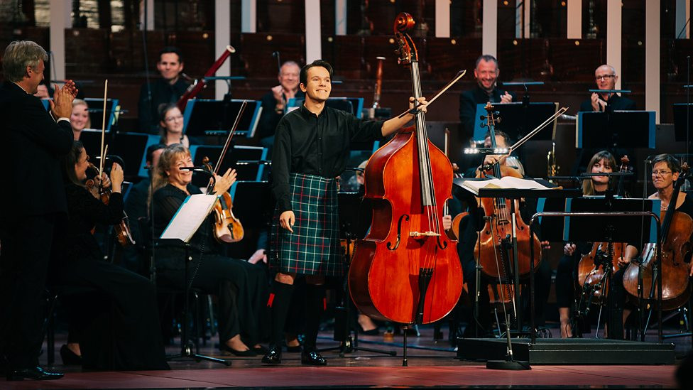Indi as a finalist of Eurovision Young Musician 2018 played his own composition Bohemian Suite with BBC Scottish Symphony Orchestra conducted by Thomas Dausgaard