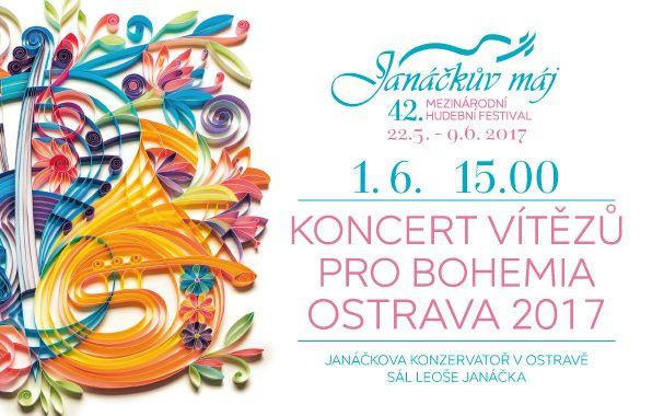 Koncert vítězů v Ostravě