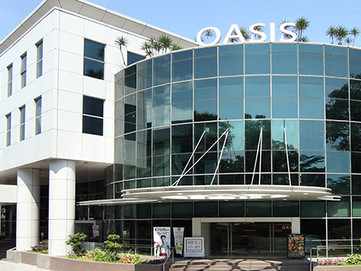 The Oasis Building in which we are located.