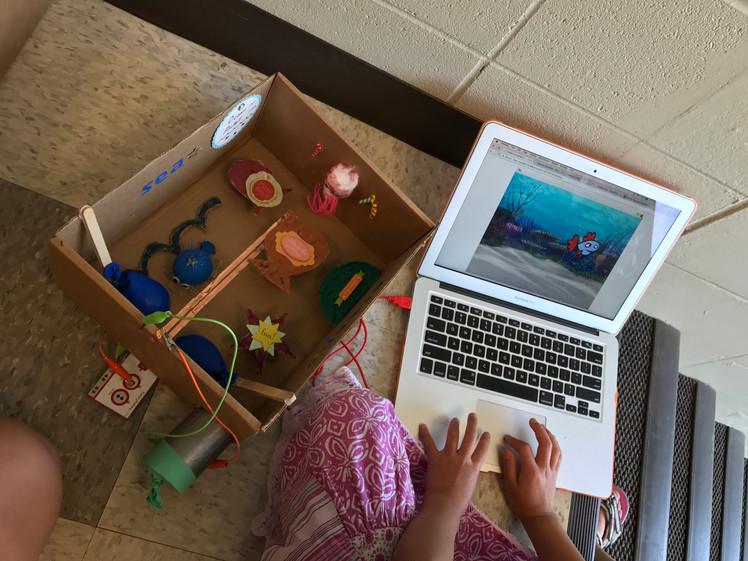 Maker Girls Camp
