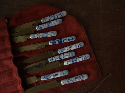 Delft Hand-painted Knife Set