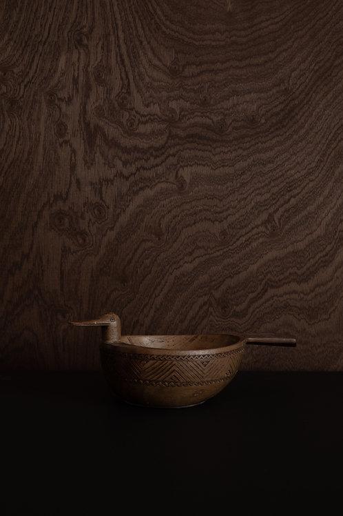 Wooden Duck Bowl