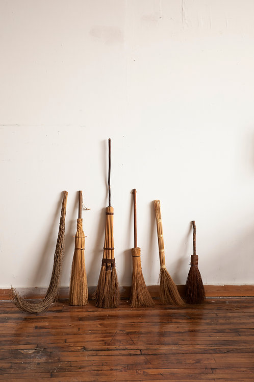 Collected Shaker Brooms
