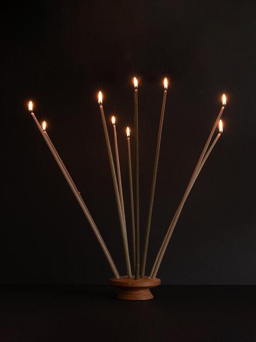 Dansk Vintage Candles and Holder