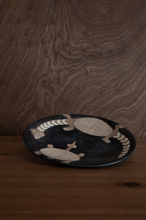 Handcarved Plate