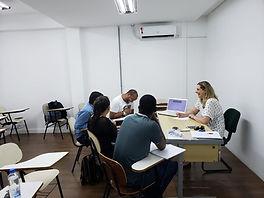Curso preparatório para o exame de proficiência Celpe-Bras, São Paulo, 2019.