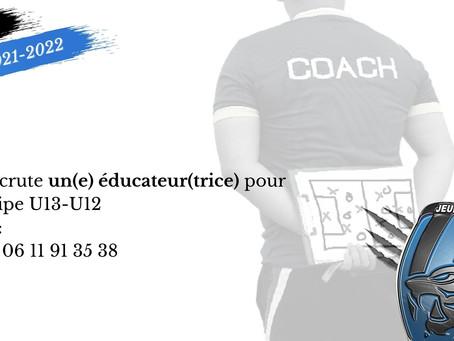 Educateur(trice) U13-U12
