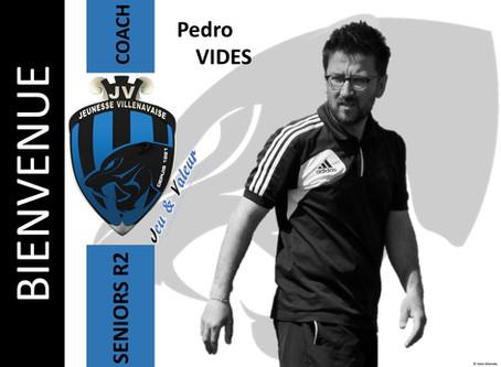 Présentation de Pedro Vides, Entraîneur des Séniors R2 la saison prochaine!