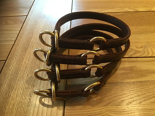 Leather Limited Slip Collar