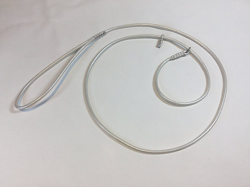 Round Leather Show Slip Lead