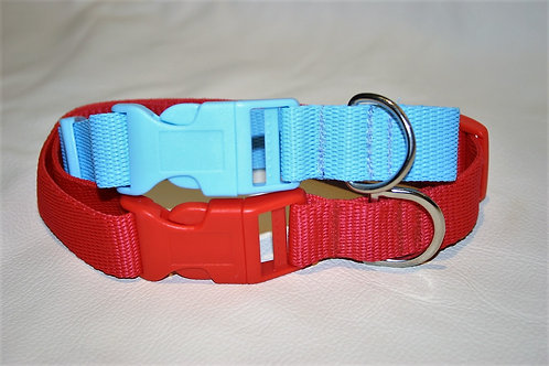 Plain Webbing Adjustable Collars
