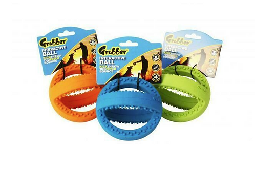 Happy Pet Grubber Football / Rugby Ball