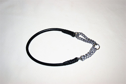 5 mm Round Leather Show Martingale Collar